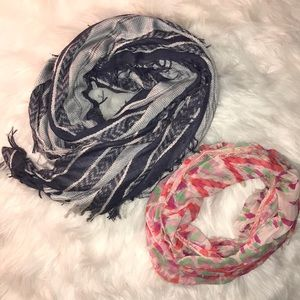 Bundle of American Eagle scarfs